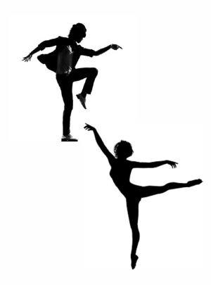 Flyerdeckblatt Tanz- und Ballettprojekt