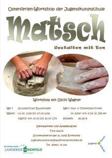 Plakat Matsch in Baumholder - A3