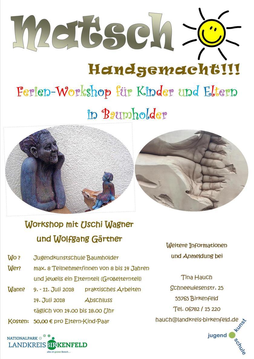 Plakat MATSCH - Handgemacht in Baumholder