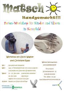 Plakat MATSCH - Handgemacht in Kempfeld