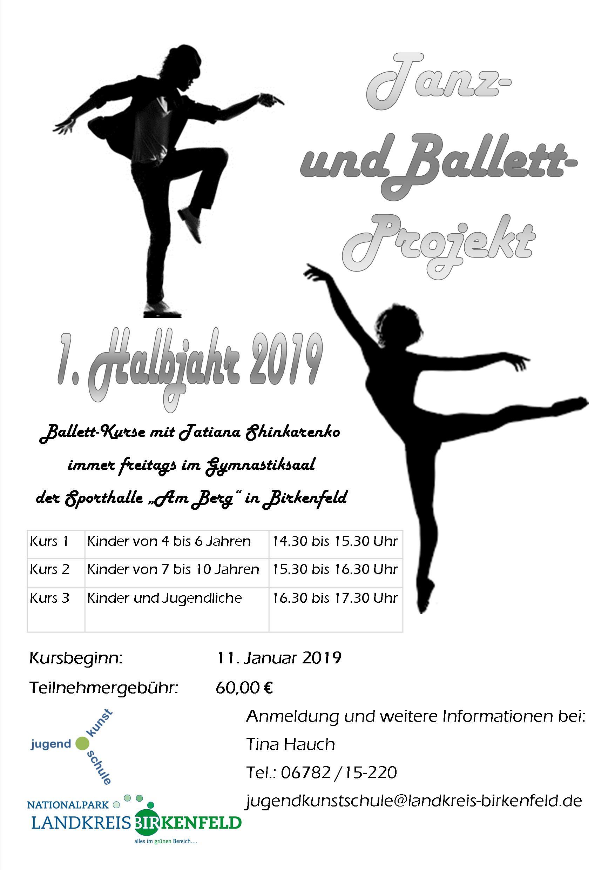 Plakat - Ballett - A3